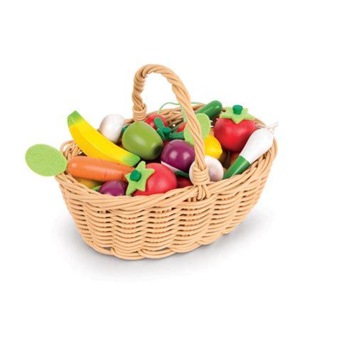 jouer a des jeux de cuisine panier de 24 fruits et légumes janod acheter sur