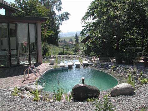 Schwimmteiche Für Kleine Gärten by Badeteich Klein Tauchbecken