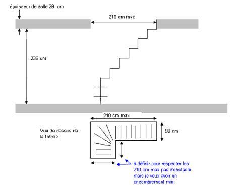 calcul escalier