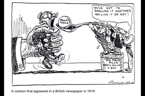 Mr Fulbrights American History The Treaty Of Versailles