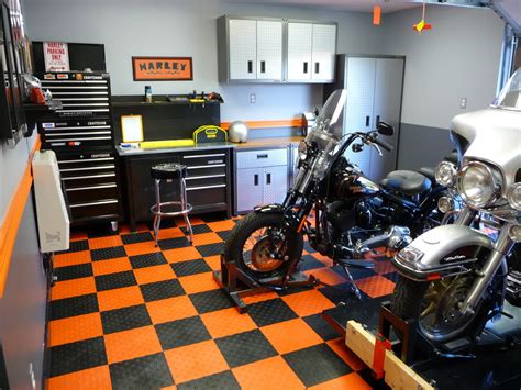 Garage Floors  Harley Davidson Forums