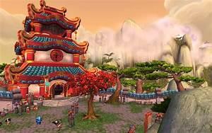 World of Warcraft: Mists of Pandaria Temple Wallpaper