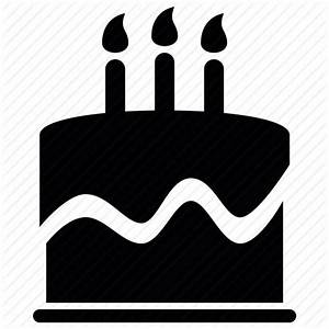 Birthday Cake Icon Vector ~ Image Inspiration of Cake and ...