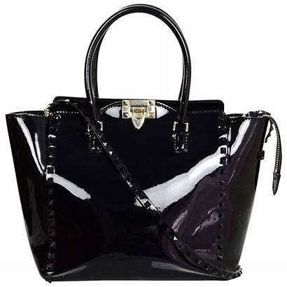 Patent Leather Bag Valentino Tote Handbags Rockstud