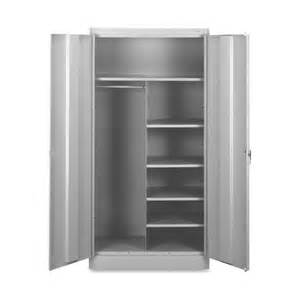 tennsco combination wardrobe storage cabinet tnn7214lgy ibuyofficesupply