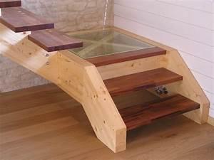 Fabriquer Son Escalier : escaliers construction de maisons en bois bbc dans les ~ Premium-room.com Idées de Décoration