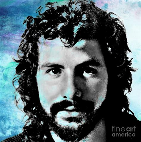 Artwork Home Decor by Cat Stevens Portrait Painting By John Malone