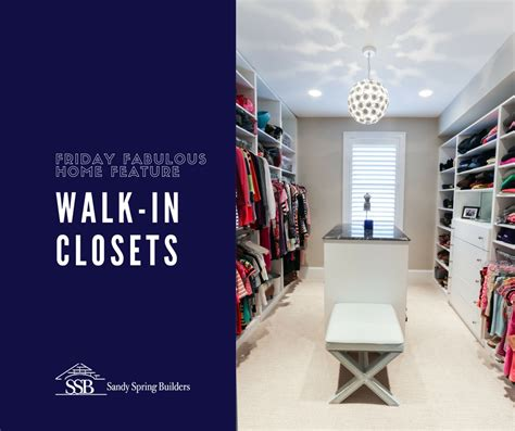 friday fabulous home feature walk in closets