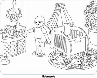 Playmobil Coloriage Imprimer Dessin Jouet Ausmalbilder Sketches