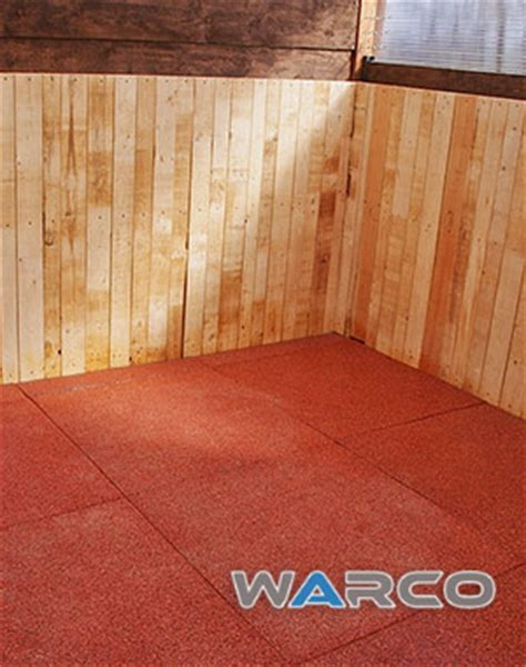 Poured Rubber Flooring For Horses Uk by Warco Equine Mats Gallery