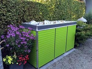 Müllbox Selber Bauen : m lltonnenbox m llbox aus metall oder edelstahl ~ Lizthompson.info Haus und Dekorationen