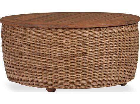 wicker patio coffee table lloyd flanders tobago wicker 36 cocktail table 1522