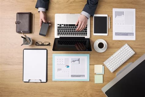 Work Desk by 10 Hacks To Keep Your Office Work Space Clean And Tidy