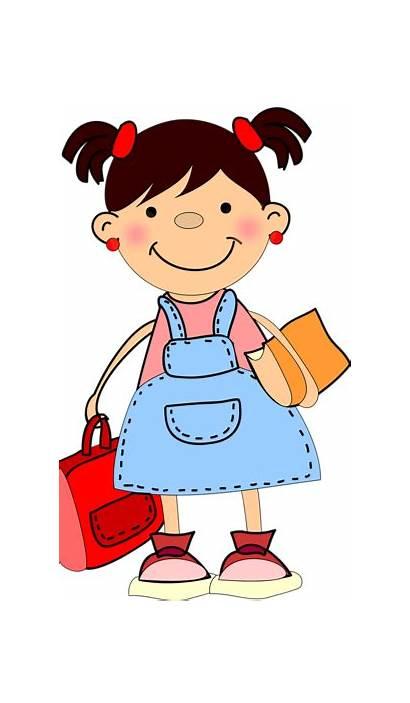 Clipart Children Clip Cliparts Cartoon Boy Sunday