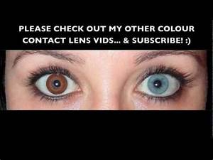 Brown Coloured Contact Lens  Coopervision Expressions