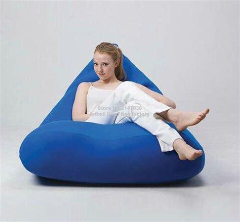 cobalt blue bean bag chair adults outdoor beanbag