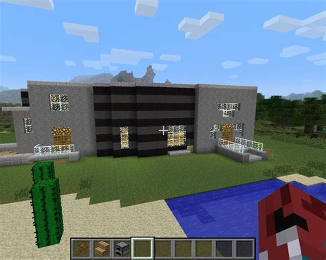big modern house minecraft project