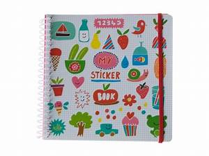 Album Photo Autocollant : sticker book imagier rigolo album pour autocollants pour enfant ~ Teatrodelosmanantiales.com Idées de Décoration