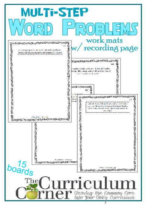 24 best images about 4th grade word problems on