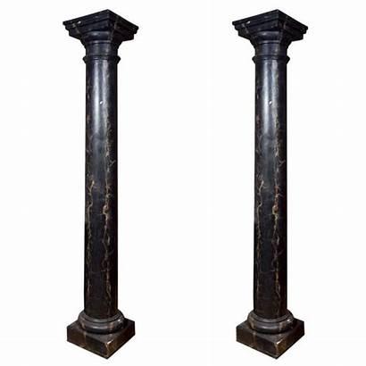 Marble Pillars Columns Stone Column Marquina Nero