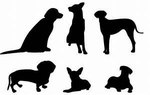 Soft Skeletons - DC: Dog vector images.