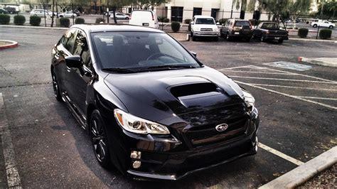 subaru wrx all black black 2015 wrx premium tynan motors