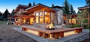 maisons en bois auto construction maison bois massif kit With maison en fuste prix 5 construction maison en bois