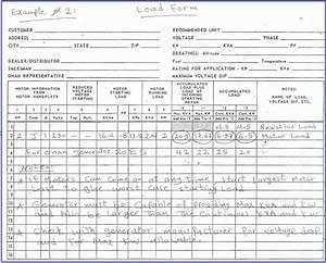 Heat Load Calculation Spreadsheet Printable Spreadshee