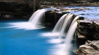 Moving Waterfall Background