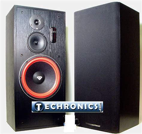 Cerwin 12 Floor Speakers by Cerwin Ls12 3 Way 12 Inch Floor Standing Tower Home