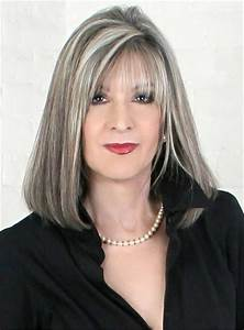 63 Stunning Long Gray Hairstyles Ideas For Women Over 50