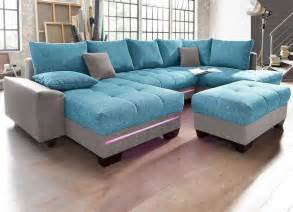boxspring sofa mit schlaffunktion boxspring wohnlandschaft mit schlaffunktion dass integrierte led beleuchtung für sofa design ideen