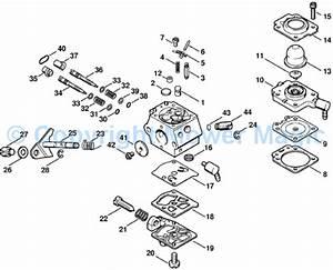Stihl Fs 90 Carburetor Diagram