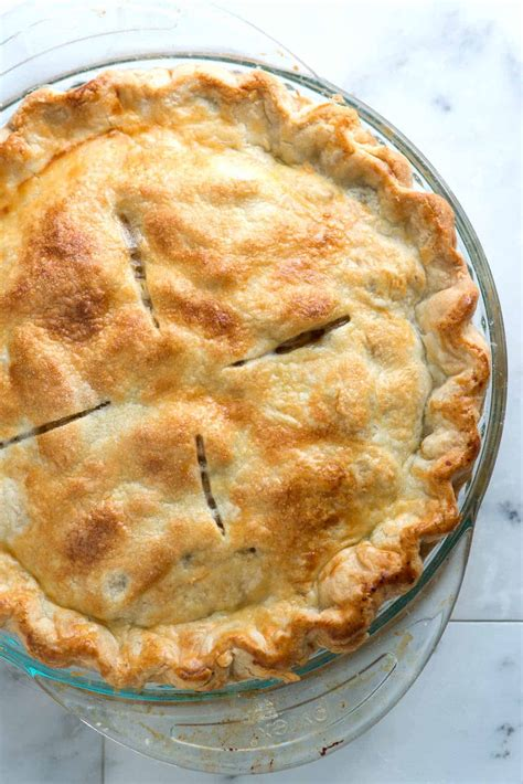I've been making this same recipe for years and it's pretty much fail proof. easy apple pie crust recipe from scratch
