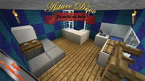 astuce deco minecraft ep2 la salle de bain youtube With astuce deco salle de bain