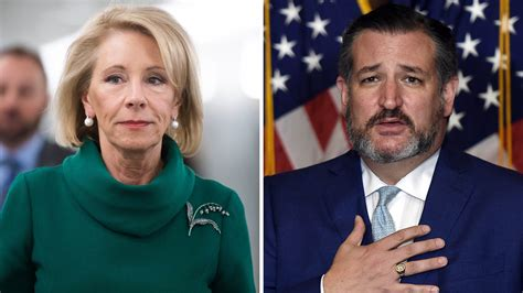 Republicans like Betsy DeVos and Ted Cruz Are Cowards for ...
