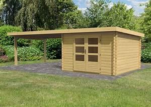 Gartenhaus 28 Mm Pultdach : woodfeeling gartenhaus pultdach bastrup 5 28 mm mit 4 m ~ Whattoseeinmadrid.com Haus und Dekorationen