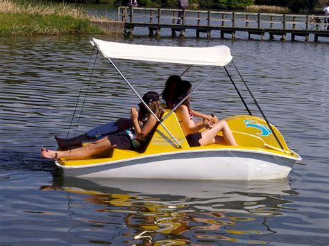 Self Bailing Pedal Boat electric slide self bailing pedal boat
