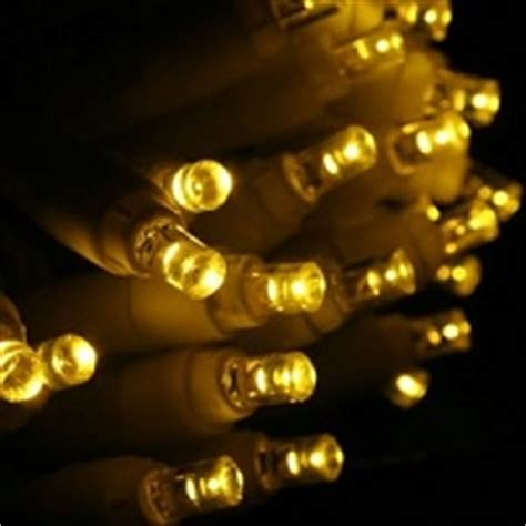 gold christmas lights white wire yellow led christmas lights