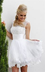 2015 white short wedding dresses the brides sexy lace With white short wedding dress