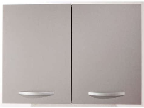 meuble haut de cuisine conforama meuble haut 80 cm 2 portes spoon color coloris gris