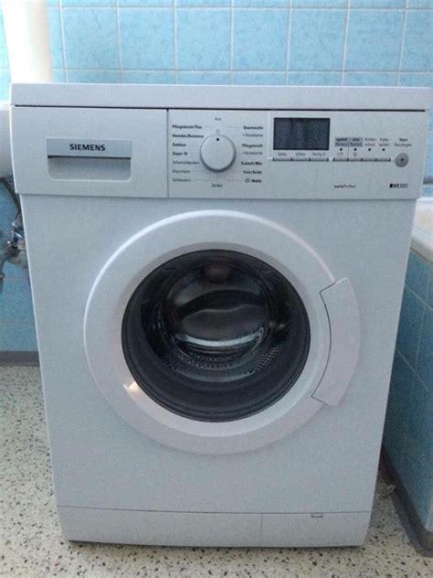 siemens iq300 13e425 waschmaschine wei 223 in f 252 rth waschmaschinen kaufen und verkaufen 252 ber