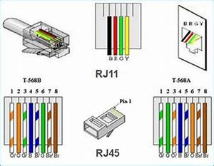 Cat6 To Rj11 Wiring Diagram Wire Installation Electronics