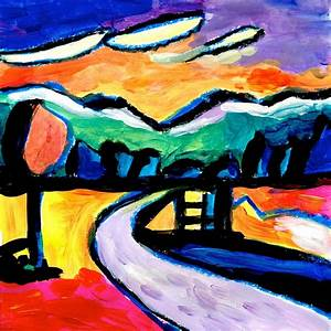 Kandinsky Landscape | www.pixshark.com - Images Galleries ...