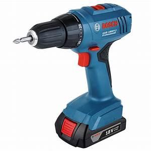 Bosch Pro 18v : bosch gsr 1800 li bosch 18v li ion professional drill driver ~ Carolinahurricanesstore.com Idées de Décoration