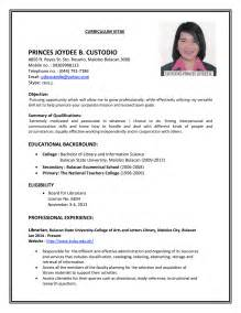 resume templates on microsoft word 2010 job cv resume templates exles resume sle for job resume sle construction project