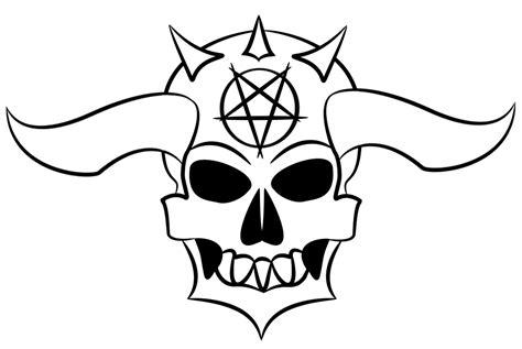 vector demon skull  dsaken  deviantart