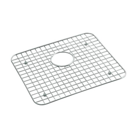 Kohler Kitchen Sink Protector by Shop Kohler 14 93 In X 17 18 In Sink Mat At Lowes