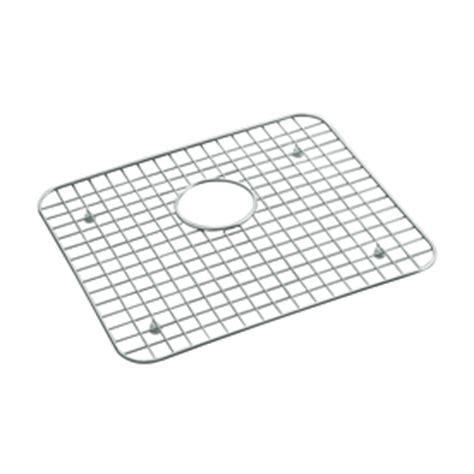shop kohler 14 93 in x 17 18 in sink mat at lowes com