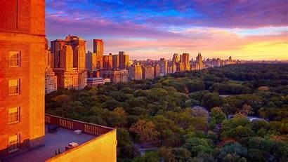 Central Park York Wallpapers Desktop Cities Spring